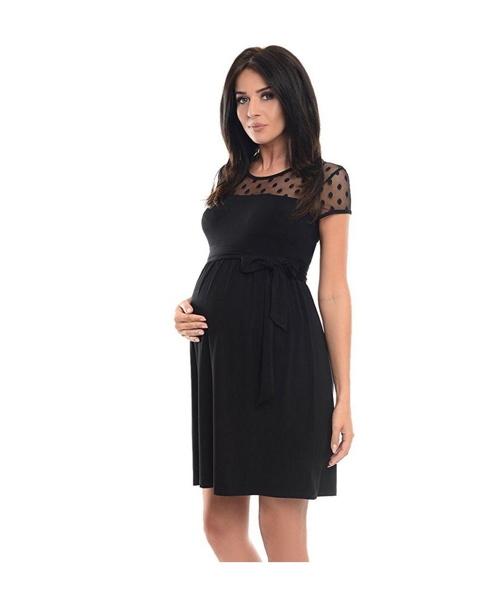 658b314688284 Robe de grossesse habillée dentelle - Dressing Maternity