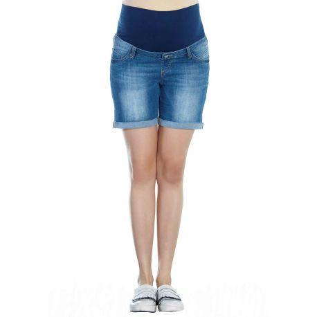 Short-de-grossesse-en-jean