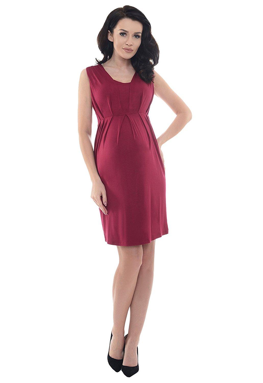 robe-grossesse-rouge